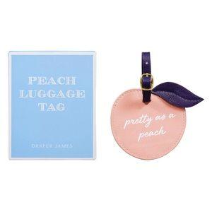 Draper James Peach Luggage Tag 🍑